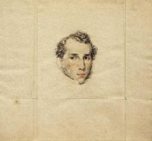 Francesco Hayez, Ritratto di Giuseppe Gargantini (?)