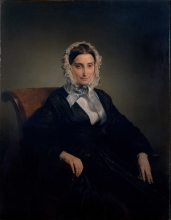 Francesco Hayez, Ritratto di Teresa Manzoni Stampa Borri