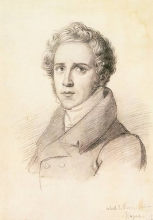 Francesco Hayez, Ritratto di Vincenzo Bellini