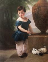 Francesco Hayez, Ritratto di don Giulio Vigoni bambino