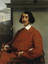 Francesco  Hayez, Ritratto di gentiluomo (Duca Manolo Nuňez Falcò)