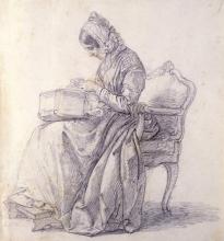 Francesco Hayez, Ritratto di sua moglie