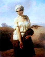 Francesco Hayez, Ruth [1853 circa]