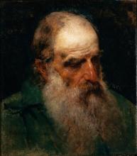 Francesco Hayez, Studio dal vero di testa di vecchio