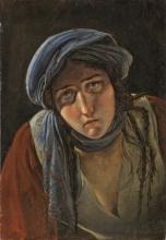 Francesco Hayez, Studio per 'I profughi di Parga'