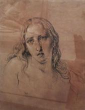 Francesco Hayez, Studio per 'La Maddalena penitente'