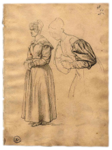 Francesco Hayez, Studio per la Maria Stuarda