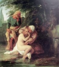 Francesco Hayez, Susanna tra i vecchioni