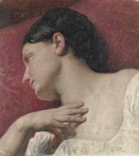 Francesco Hayez, Testa di donna (Studio dal vero)