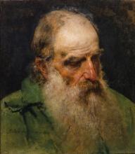 Francesco Hayez, Testa di un uomo che guarda in basso