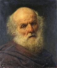 Francesco Hayez, Testa di vecchio
