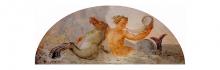 Francesco Hayez, Tritone che suona la buccina su cavallo marino, 1819, cm. 93 x 250