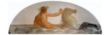 Francesco Hayez, Tritone con ippocampo, 1819, cm. 90 x 250