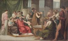 Francesco Hayez, Ulisse alla corte di Alcinoo [1814-1815]