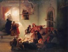 Francesco Hayez, Una scena della strage di Patrasso avvenuta nell'aprile del 1822