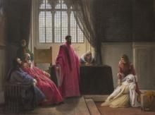 Francesco Hayez, Valenza Gradenigo davanti agli inquisitori [1843-1845 circa]
