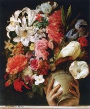 Francesco Hayez, Vaso di fiori