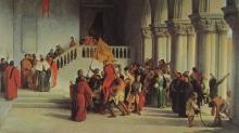 Francesco Hayez, Vittor Pisani liberato dal carcere e portato in trionfo
