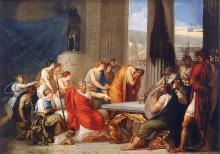 Francesco Hayez, Ulisse alla corte di Alcinoo re dei Feaci