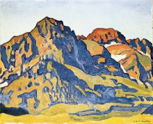 Hodler, Die Dents Blanches | Les Dents Blanches
