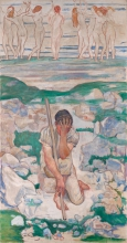 Hodler, Il sogno del pastore | Der Traum des Hirten | The dream of the shepherd