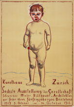 Hodler, Kunsthaus Zürich, Sechste Ausstellung der Gesellschaft Schweizer. Maler, Bildhauer, u. Architekten