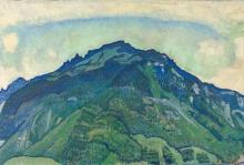 Hodler, La Schynige Platte | Die Schynige Platte