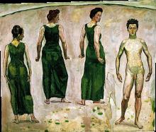 Ferdinand Hodler, La gioventù ammirata | Der bewunderte Jüngling