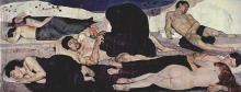 Hodler, La Notte | Die Nacht | La Nuit | The Night