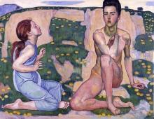 Ferdinand Hodler, La primavera | Der Frühling
