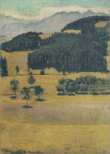 Hodler, Paesaggio, querce sullo Stockhorn.png