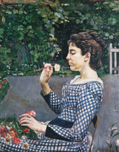 Hodler, Ritratto di Hélène Weiglé   Bildnis Hélène Weiglé   Portrait de Hélène Weiglé   Portrait of Hélène Weiglé