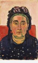 Hodler, Ritratto di Paulette Godé-Magin   Bildnis Paulette Godé-Magin