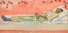 Ferdinand Hodler, Ritratto di Valentine Godé-Darel morta | Bildnis der toten Valentine Godé-Darel
