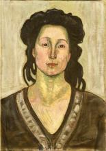 Hodler, Una donna | A woman