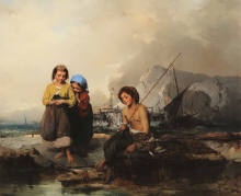 Domenico Induno, Giovani pescatori