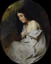 Domenico Induno, La mia modella