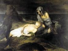 Domenico Induno, Un episodio del diluvio