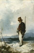 Domenico Induno, Vecchio cacciatore
