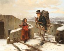 Gerolamo Induno, Il venditore ambulante