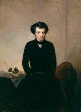 Gerolamo Induno, Ritratto del giornalista Giovanni Battista Bottero