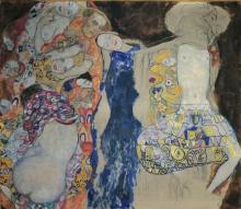 Klimt, La sposa | Die Braut | La mariée |The bride