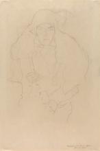 Klimt, Ritratto di donna   Frauenbildnis   Portrait de femme   Portrait of a woman