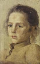 Lega (attribuito a), Ritratto di giovinetta