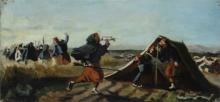 Lega, Accampamento di zuavi