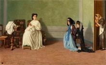 Lega, Due bambine che fanno le signore