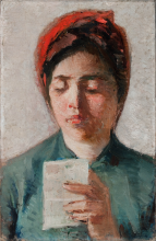 Silvestro Lega, La lettura [1885 circa]
