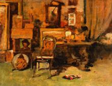 Lega, Lo studio del pittore.png