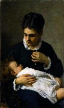 Silvestro Lega, Maternità