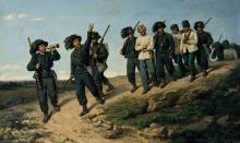 Silvestro Lega, Prigionieri di guerra